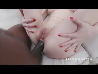 Blackbuster, Emmi Accel vs Mike Chapman - Balls Deep Anal, Rough Sex, Gapes and Creampie Swallow