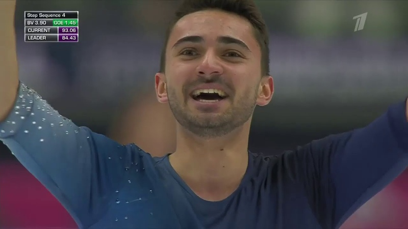Kevin AYMOZ FS - 2019 Grand Prix Final