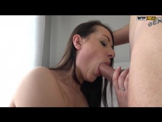WTFpass Carolina Vogue Awesome Hook Up Fuck with Lusty Chick Brunette Deep throat Blowjob Russian
