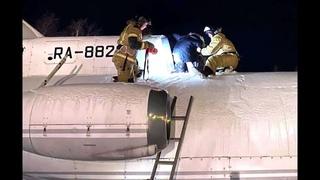В Югорске спасли ребёнка, застрявшего в турбине самолёта-памятника