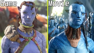 Avatar: Frontiers of Pandora Game vs Movie Early Comparison