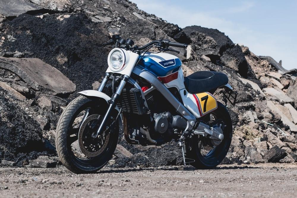 Kaspeed Custom Motorcycles: кастом Honda NTV 650
