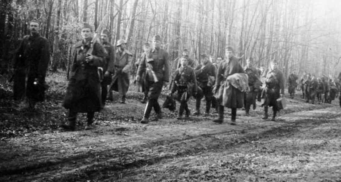 Венгры в походе