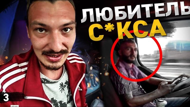 Водитель извращенец в Турции Нападение бездомных собак Еду в Стамбул Путешествие автостопом