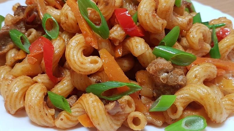 Вкуснее Плова Даже не думала что так макароны мало кто готовит ВКУСНЫЙ УЖИН ИЗ доступных продуктов