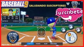 ✅ BASEBALL 9 JONRON CON BASES LLENAS GRAND SLAM BATAZO GENIALES LIGA GAMEPLAY ESPAÑOL TRUCOS BEISBOL