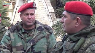 РАБОТА РОССИЙСКОЙ ВОЕННОЙ ПОЛИЦИИ В СИРИИ. RUSSIAN MILITARY POLICE OPERATION IN SYRIA