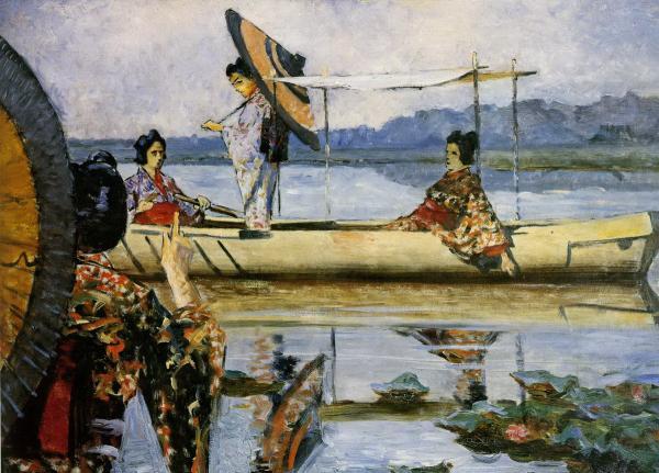 «Прогулка в лодке», Василий Васильевич Верещагин