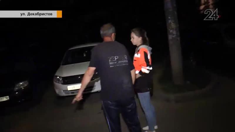 Распитие спиртного во дворе дома по ул. Декабристов привело к шумным разборкам