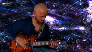 playing Hard Rock Ballad Guitar Backing Track Jam in E Minor