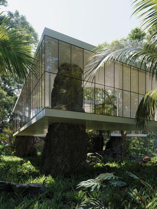 Casa Atibaia by Charlotte Taylor and Nicholas Préaud