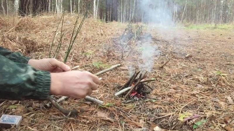 Едем в лес Прихватил трансивер