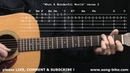What A Wonderful World by Louis Armstrong : 365 Riffs For Beginning Guitar !!