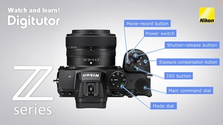 Z 5 - Camera Controls: Names and Functions | Nikon Z Series | Digitutor