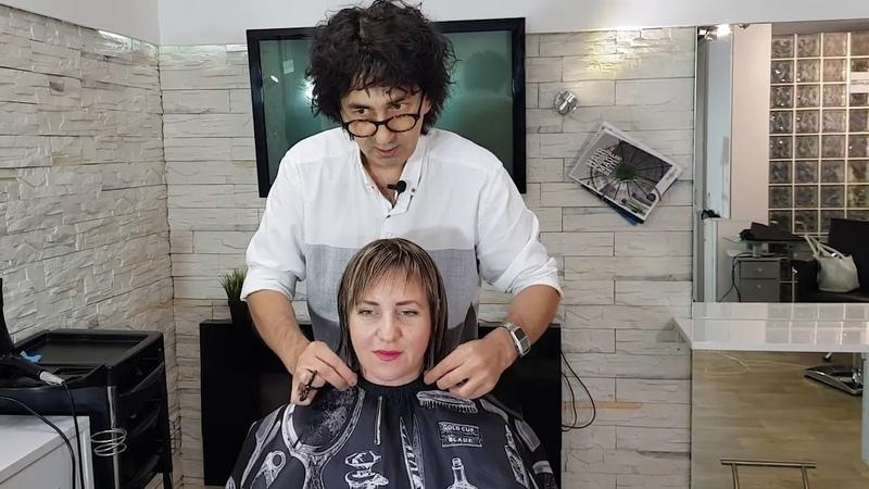 Стрижка Каре боб каре техника Интерпретация Bob haircut