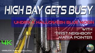 2020 11 01 High Bay Gets Busy Under a Halloween Blue Moon