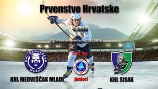 PH J    KHL Medveščak mladi vs KHL Sisak