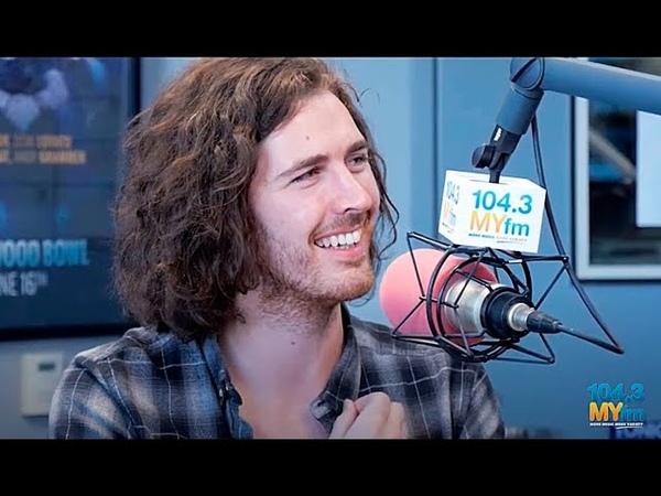Hozier на шоу Valentine in the Morning MYFM 104 3