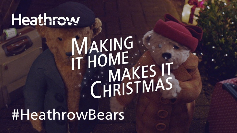 Official Heathrow 2018 Christmas Advert - The Heathrow Bears Return | HeathrowBears