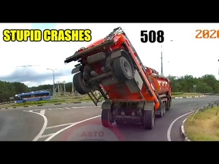 Stupid driving mistakes 508 (August 2020 English subtitles)