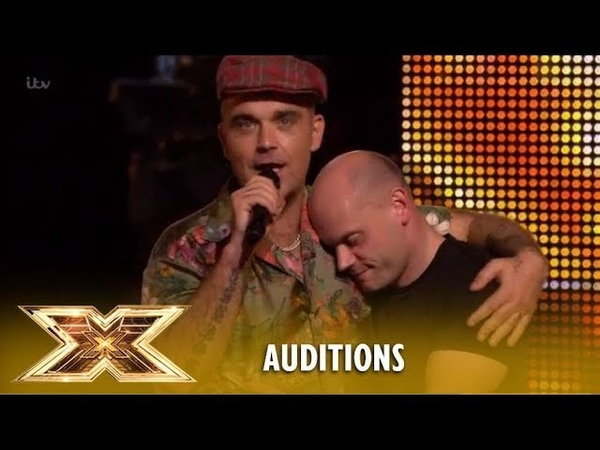 Robbie Williams Makes Andy Hofton´s Dream Come True The X Factor UK 2018