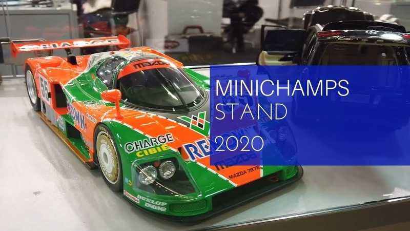 Minichamps Stand on Spielwarenmesse 2020
