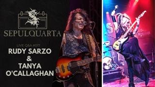 SepulQuarta - LIVE Q&A with  Rudy Sarzo, Tanya O'Callaghan, Andreas & Derrick