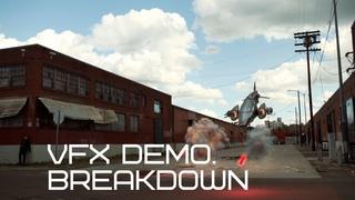 Spaceship Demo VFX Breakdown