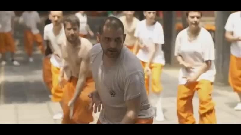 Большое количество иностранных друзей изучают китайские боевые искусства в храме Шаолинь