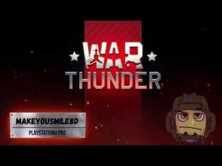 16 фрагов - топ 1 с пекарней (АБ 3.7) WarThunder PS4Pro