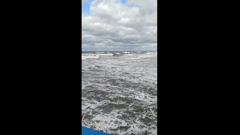 буря на Балтике 17 сентября 2020