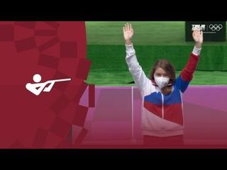 ЗОЛОТЫЕ ВЫСТРЕЛЫ Бацарашкиной на Олимпиаде-2020! Это ПОДВИГ олимпийской чемпионки!