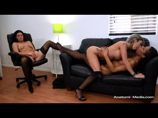 AnatomikMedia - Business Affairs / India Summer, Kat Dior, Kira Noir