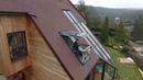 ENTREPRISE BRISACIER Création d'une Verrière balcon VELUX CABRIO GDL 2066 LSB
