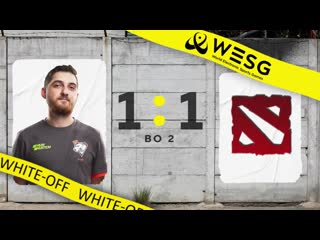 White-off 1:1 room310, wesg group stage, bo2