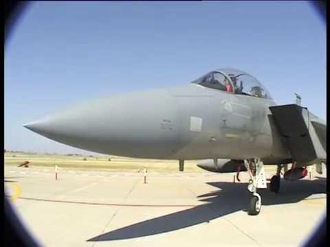 Федор Тыщук о своих впечатлениях от полета на F 15