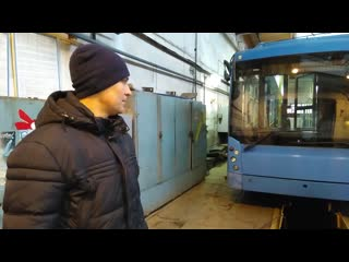 Обзор первого московского троллейбуса, который пришел в Новочебоксарск