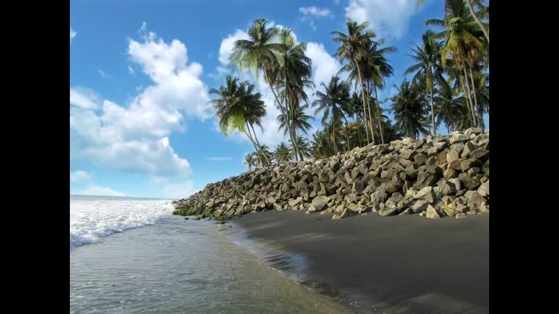 Варкала Черный пляж