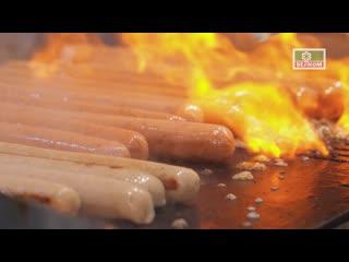 Хот-дог с квашеной капустой и Нюрнбергской колбаской от Велком
