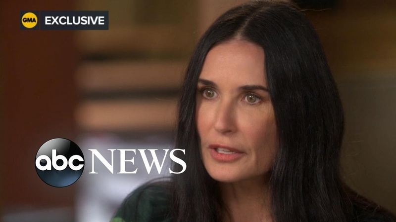 Demi Moore opens up about her marriages to Bruce Willis Ashton Kutcher l ABC News l Part 2 3