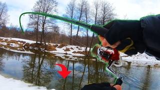 Ловля Щуки на Спиннинг! Удачная рыбалка на малой реке, весной 2021