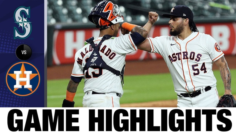Bats back Lance McCullers Jr.'s return in Astros' 7-2 win | Mariners-Astros Highlights 72520