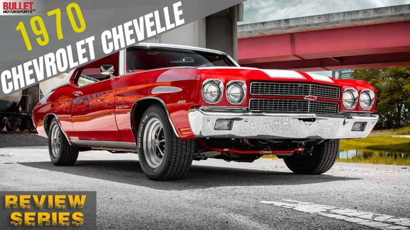 IMMACULATE 1970 Chevrolet Chevelle 4k REVIEW SERIES