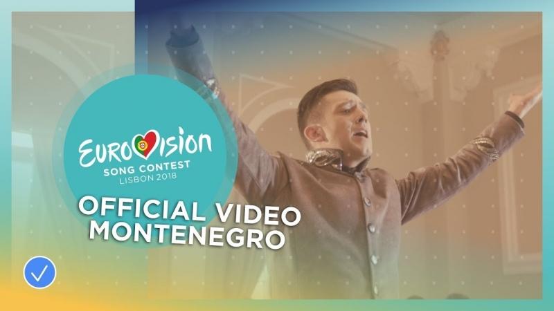 Vanja Radovanovic Inje Montenegro Черногория Eurovision 2018 HD 1080p