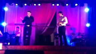 Ринат Каримов и Азамат Биштов на концерте биштова
