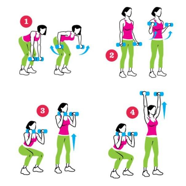 упражнения для рук в картинках для дома даже научилась ходить