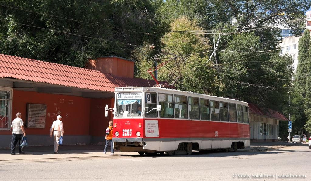 Саратовский трамвай, Саратов 2020