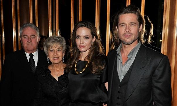СМИ: мама Брэда Питта смогла увидеться с внуками в гостях у Анджелины Джоли