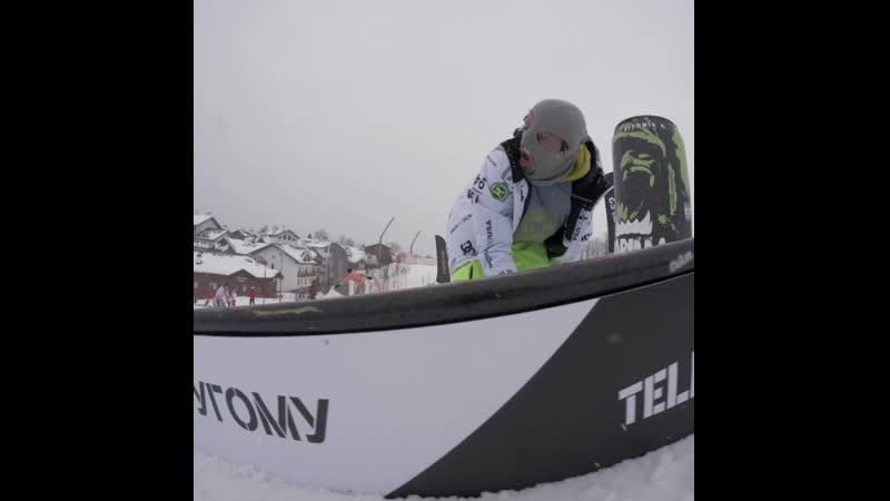 Powdervoin в сноупарке Tele2 на Tinkoff Rosafest