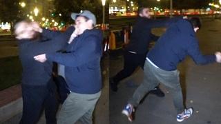 Лев Против - [ДРАКА] Толпы пьяных в пятницу на Болотной. 2 часть